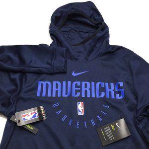 Dallas Mavericks Warm Up Hoodie Sweatshirt
